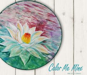 Ogden Lotus Flower Plate